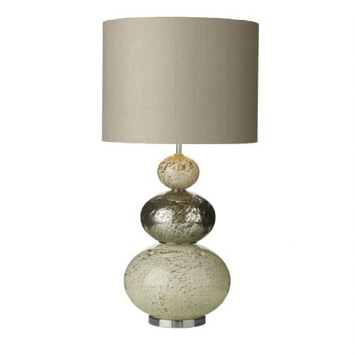 Boavista Table Lamp Volcanic White/ Multi Base Only (Hand made, 7-10 day Delivery)